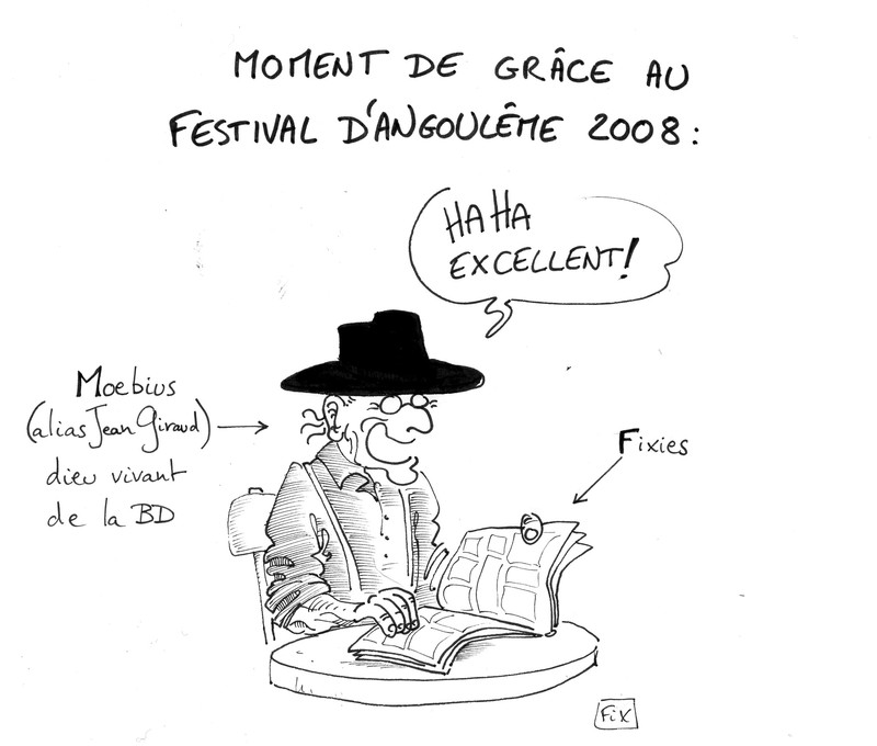 Moebius : moment de grace 2008