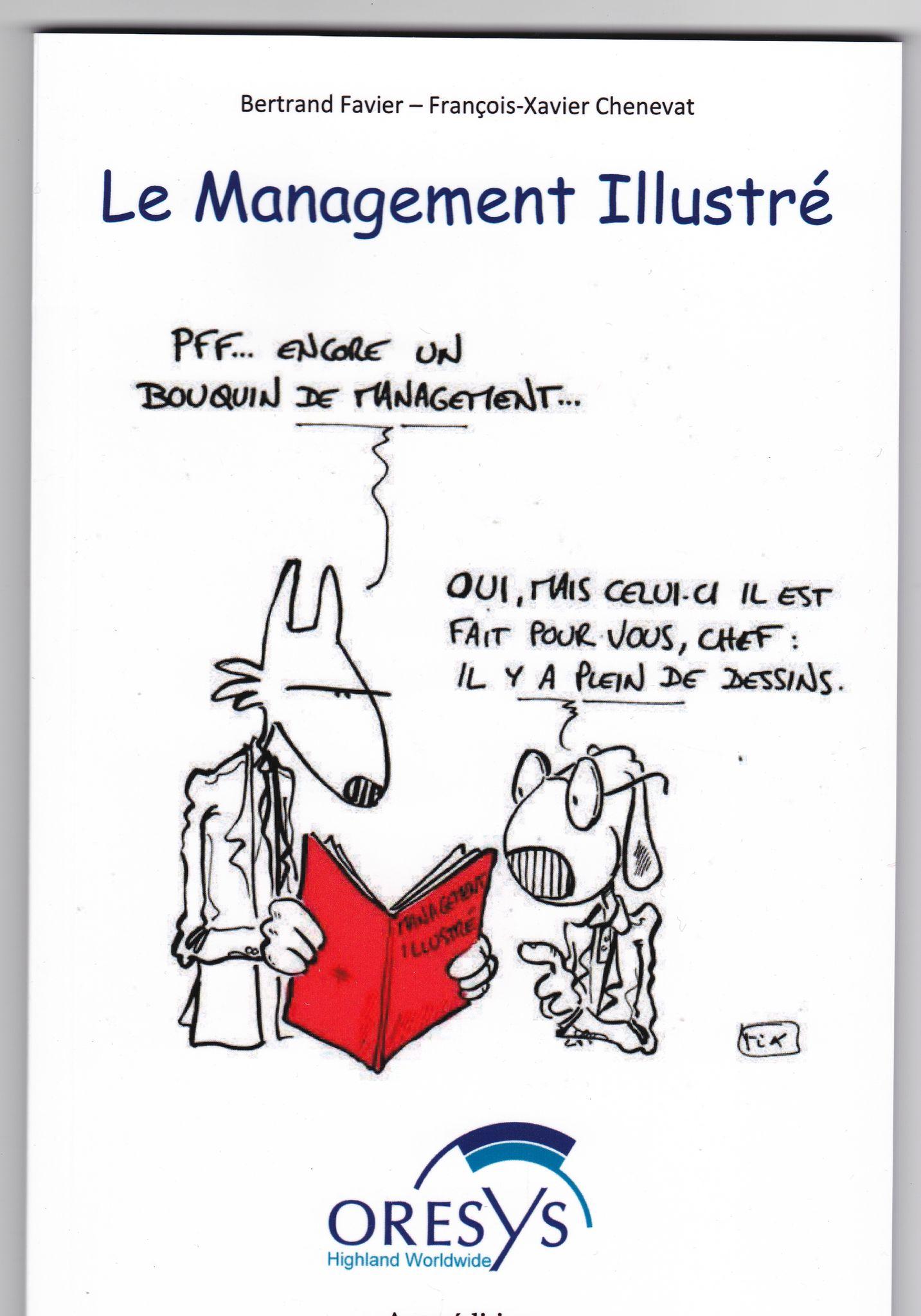 Le management illustré … mon premier livre !