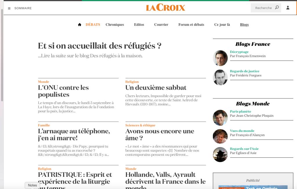 Blog sur l'accueil de réfugiés par une famille française