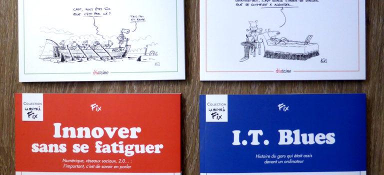 Jour J : la collection «La boîte à Fix» arrive en librairie