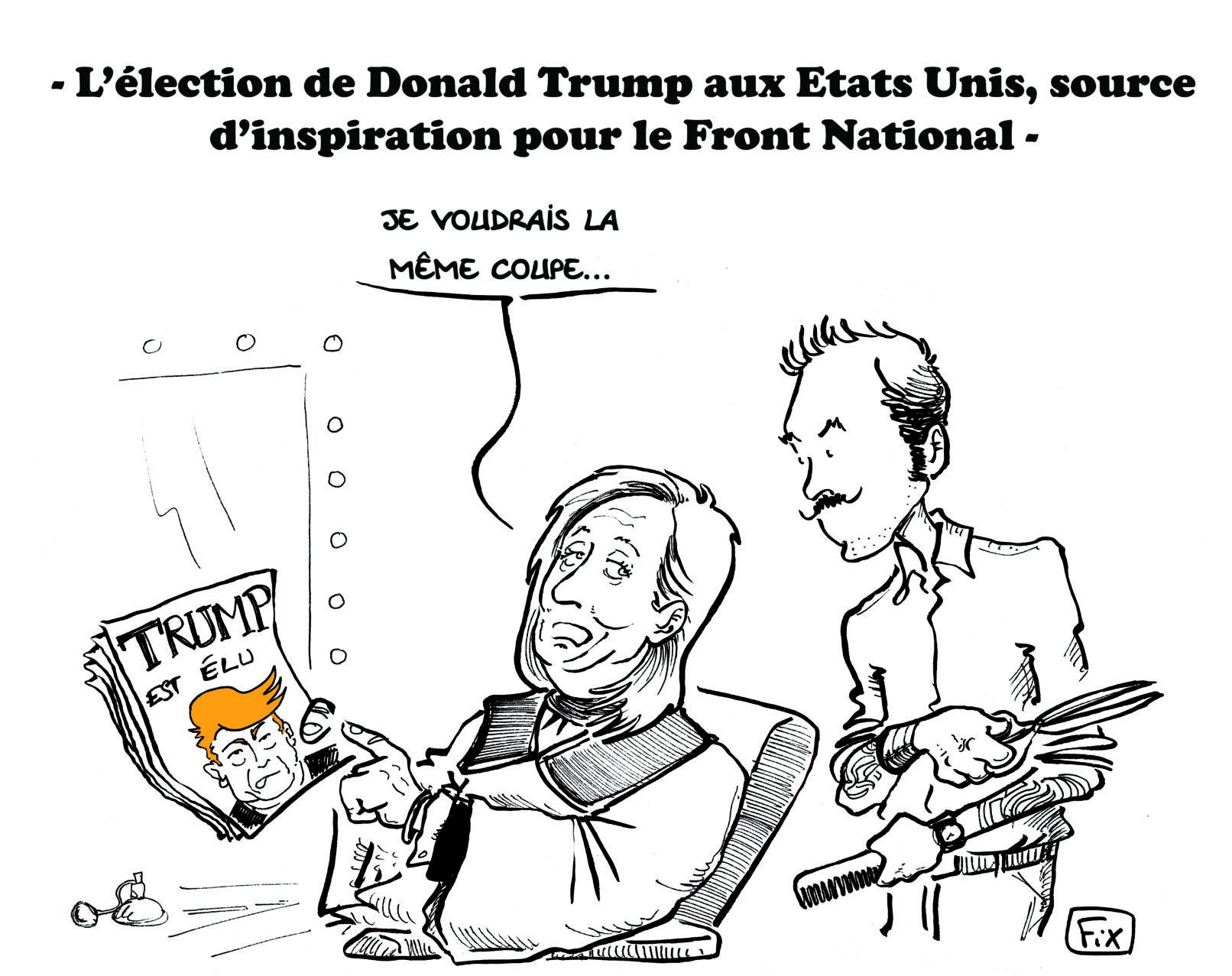 Trump inspire le FN