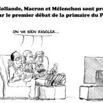 Primaire du PS : Hollande, Macron et Mélenchon sont prêts
