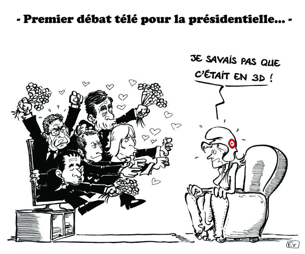 débat présidentielle TV