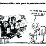 1er débat tv de la présidentielle