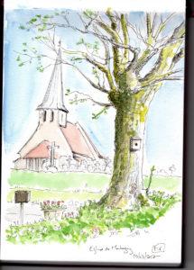 arbre et eglise