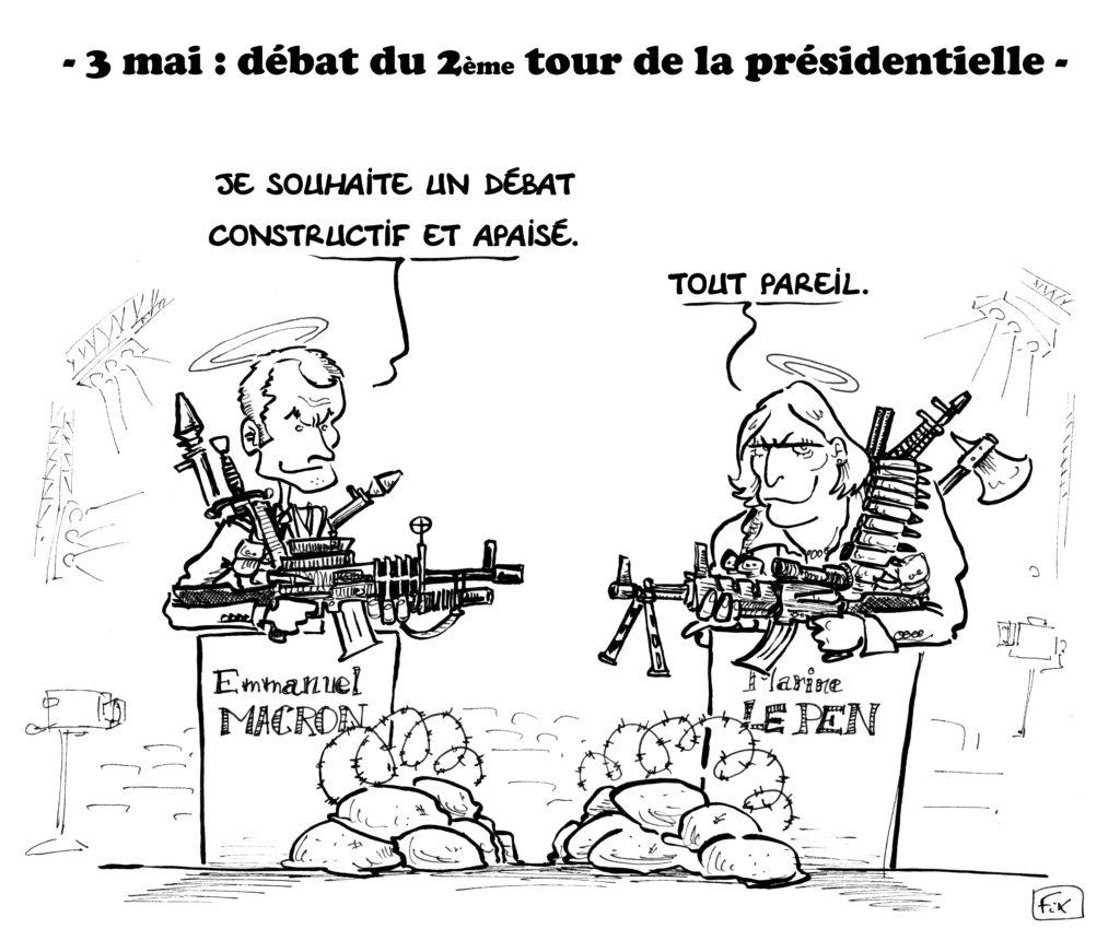 débat 2e tour présidentielle macron le pen