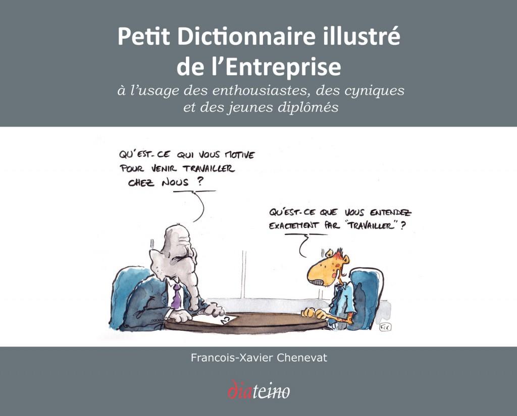 le petit dictionnaire illustré de l'entreprise - fix dessinateur