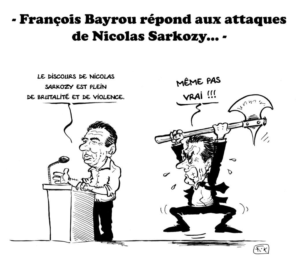 bayrou versus sarkozy