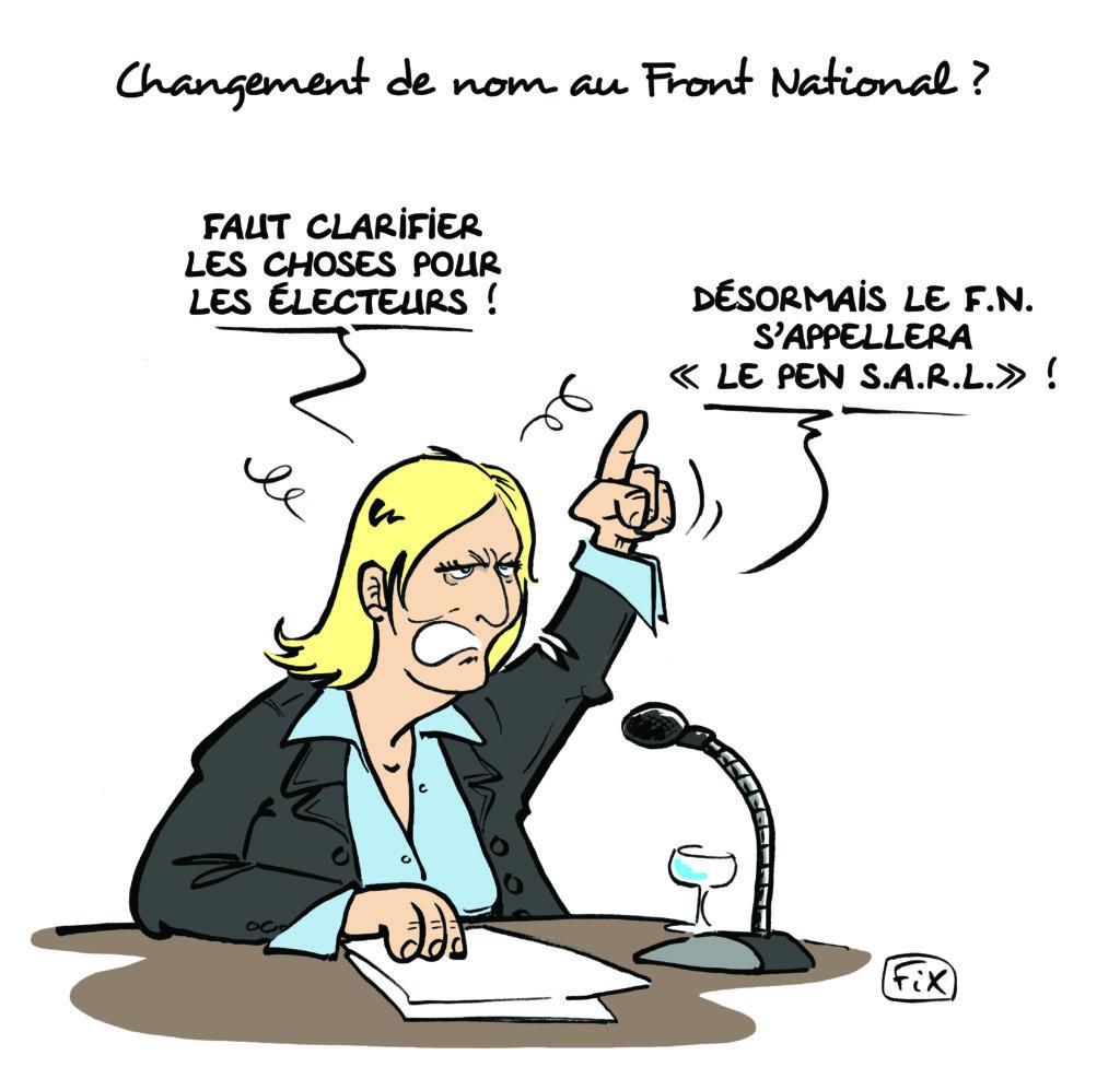 changement nom FN Le Pen