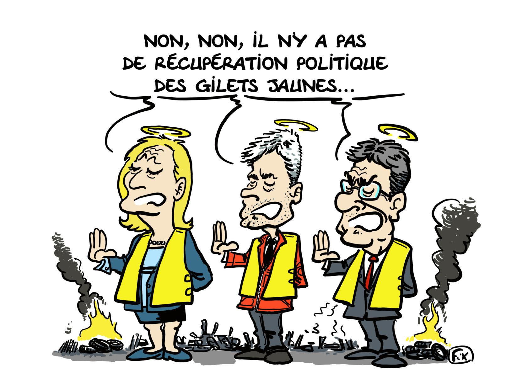 Le dessin du jour (humour en images) - Page 22 20181120_gilets_Jaunes